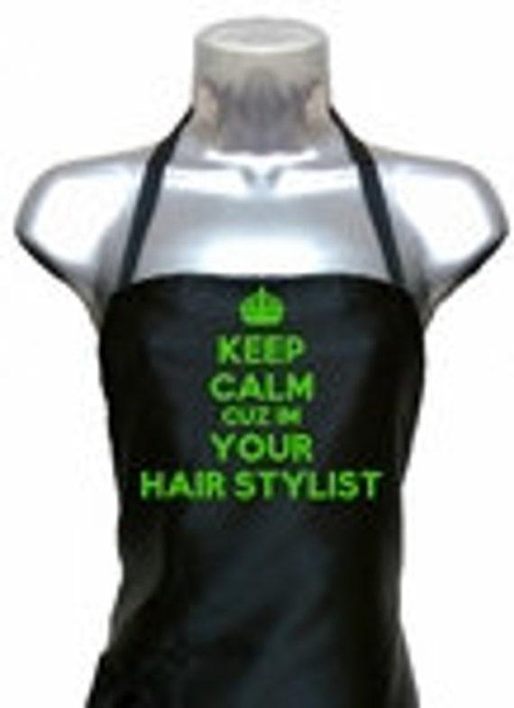 Personalized Apron (Hairstylist apron)