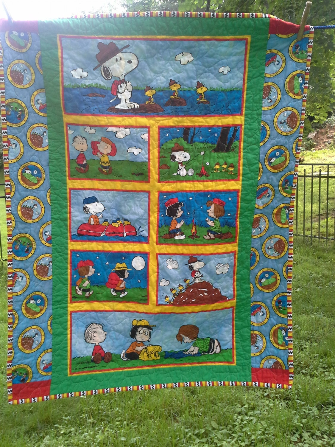Snoopy Crib Quilt Snoopy Nursery Bedding Woodstock By