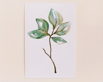Any 1  Botanical Leaf Print