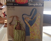 Simplicity E2335 Bag Sewing Pattern