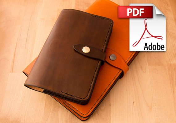 Build Along Leather Pattern 3: Moleskine Covers