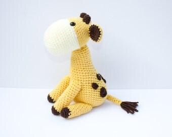 Giraffe Plush - Made To Order - Giraffe Stuffed Animal, Baby Shower Gift, Jungle Nursery, Jungle Animal, Toy Giraffe