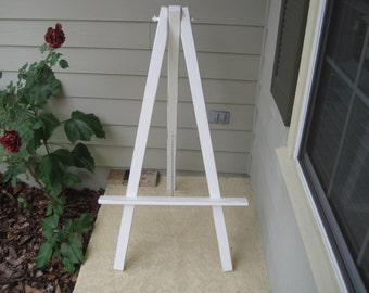 Extra Large Distressed Easel - Easel for Chalkboard