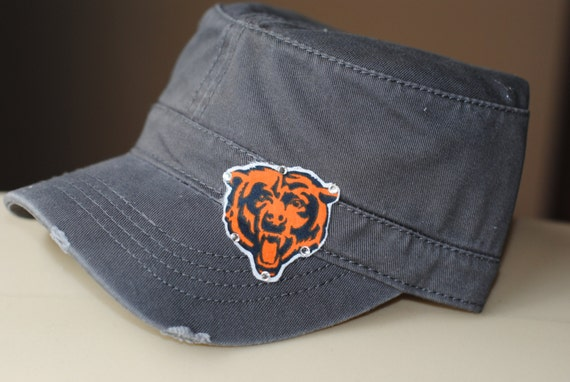 womens chicago bears nfl hat rhinestone bling by ebowsboutique
