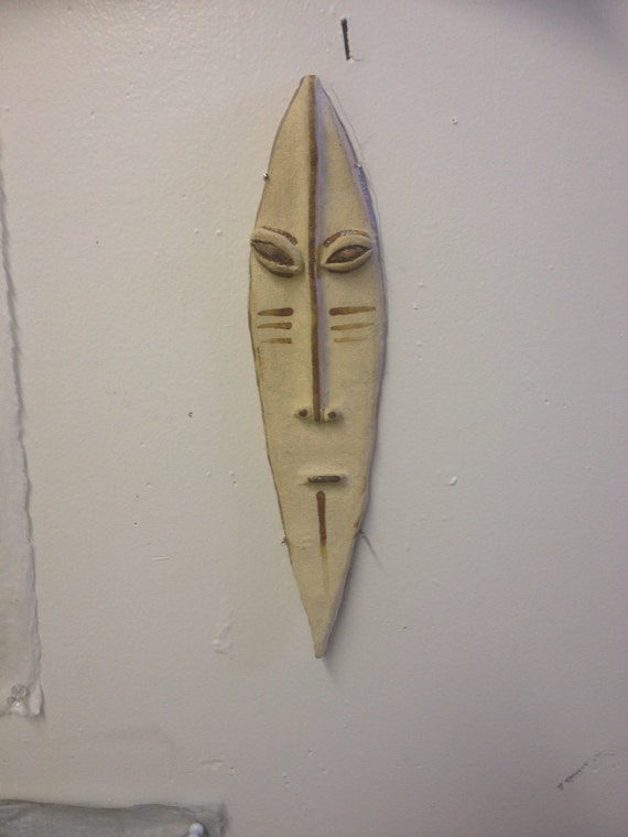 Long faced tribal mask