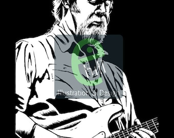 Jimmy Herring Silkscreen Poster. Limited Edition. Widespread Panic