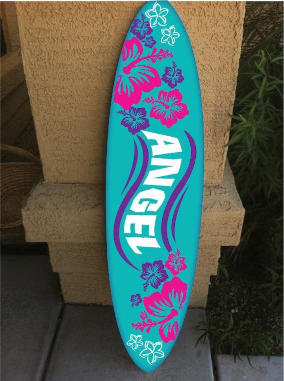 Art culos similares a colgante de pared surf board tabla - Tablas de surf personalizadas ...
