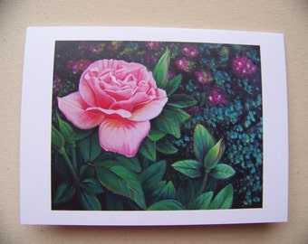 "greeting card ""patty's rose"""