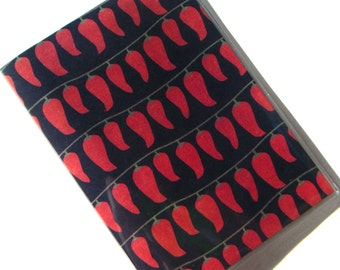 Chili Pepper Passport Cover Case Holder