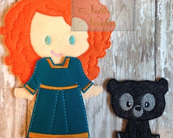 Brave Felt Doll Outfit ONLY