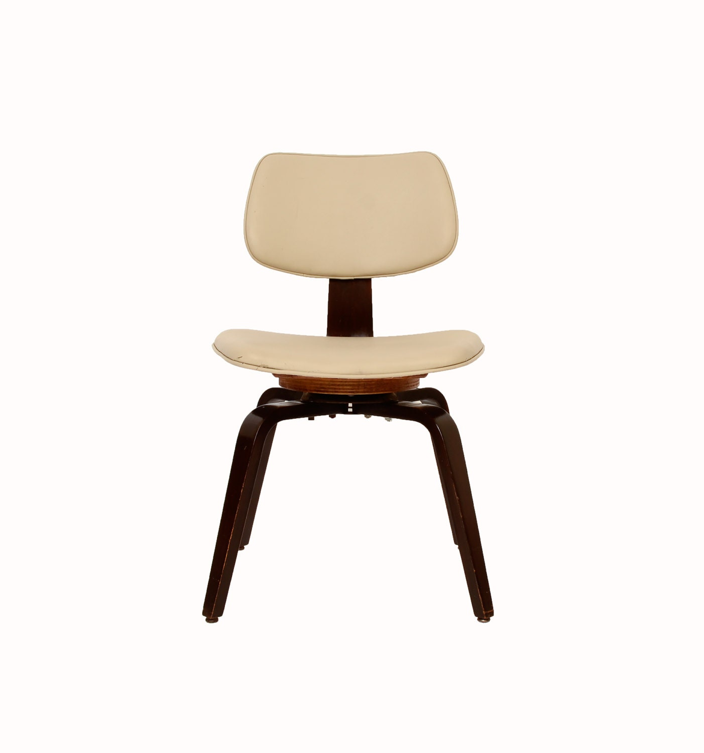Thonet Chair Swivel Base Office Chair Bent Wood Chair Mid