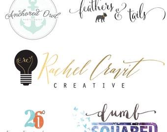 Custom Logo Design and Watermark -  Custom Photography Logo - Business Logo - Business Branding Design - One of a Kind Logo