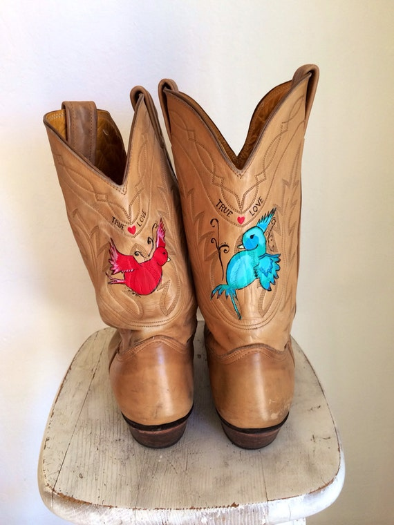 Cowgirl Boots Crafty at RoryLaRue on Etsy