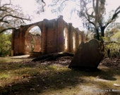 Mysterious Architecture from Old Sheldon Church Ruins, South Carolina #3