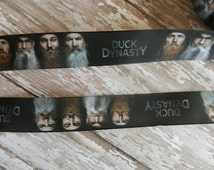 3 Yards of 1. inch Duck Dynasty Grosgrain Ribbon