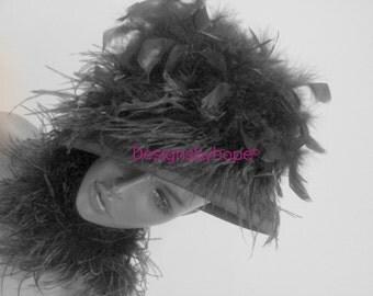 Avant Garde Haute Couture Hat