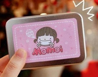 Iron boxes seal stickers -20 kinds of Korea DIY lovely Cookies girl