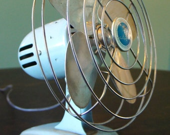 Vintage Oscillating Fan