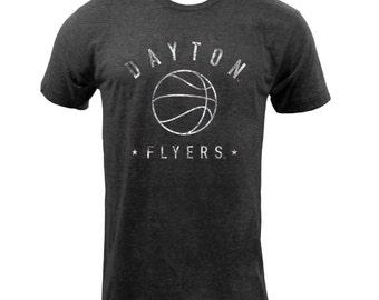 Dayton Flyers Metaphys Basket Ball Tee - Tri-black