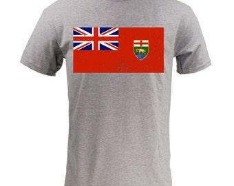 Manitoba Provincial Flag - Sport Grey