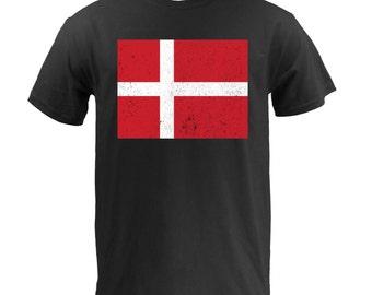 Flag of Denmark - Black