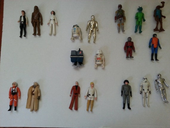 Original Star Wars Toys : Original star wars action figures from kenner by