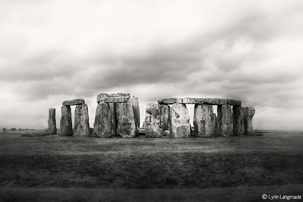 Black and White Photography stonehenge photos seven wonders