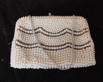 Vintage beaded purse