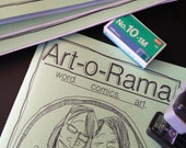 Art-o-rama zine  1 yr subscription PLUS ART (Volume 3)