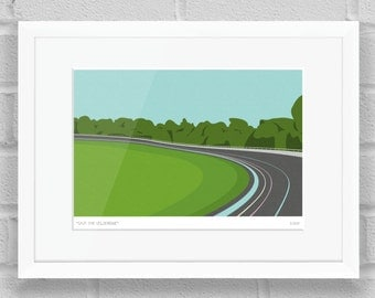 Save the Herne Hill Velodrome, London - Limited Edition Art Print / Poster