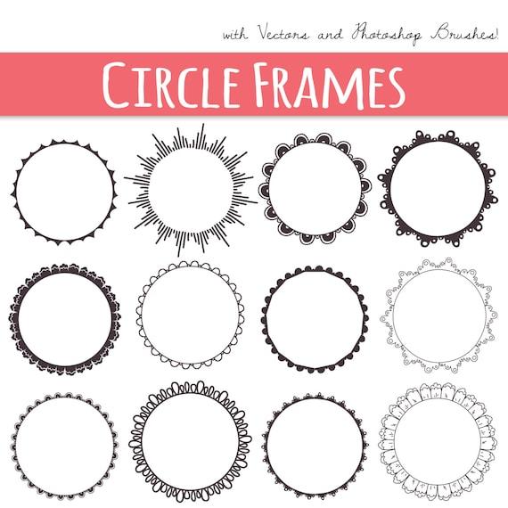 Circle Frame Free Brushes - (747 Free Downloads)
