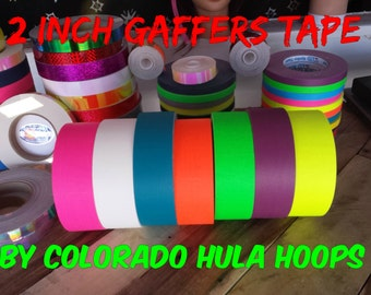 "Spike Stage Tapes 150 ft. roll of 2"" Gaffers Hula Hoop Grip Tape - All Colors and Neon to Choose From!"