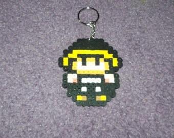 Super Mario Hammer Suit keychained perler sprite