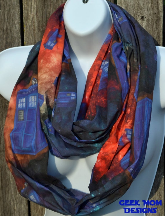 Geek Mom Designs - All of Space and Time Infinity Scarf