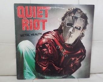"""Quiet Riot- """"Metal Health"""" vinyl record"""