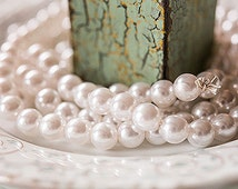 Decorative Pearl Garland / 9 Foot Stand / Pearl Garland