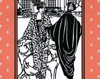 Folkwear Poiret Cocoon Coat & Reticule Drawstring Handbag Sewing Pattern #503 1913-1919 WWI era