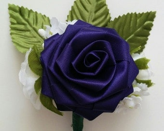 Origami Boutonniere for Wedding/ Anniversary/ Prom/ Birthday/ Sweet 16/ Graduation/ Mother's Day/ Homecoming
