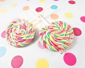 Polymer Clay Lollipop Charm