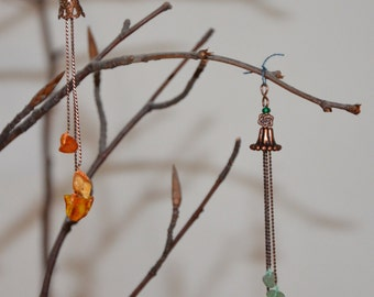 Windchimes, dollhouse miniature in 1/12 scale