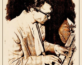 Dave Brubeck Jazz Pianist Print