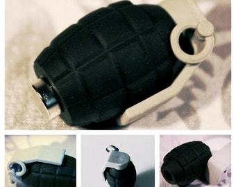 Magnetic and Eraser hand grenade