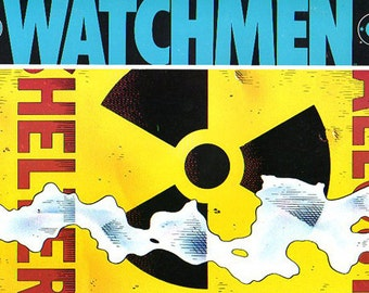 Vintage Comic Book - Graphic Novel - Watchmen Number 3 - Alan Moore - 12-part series - Really Wonderful Condition - One Owner