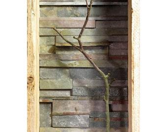 Handmade Natural Slate Wall Sculpture