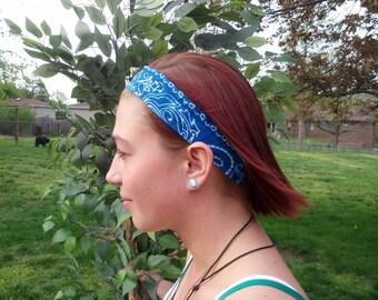 set of 4 No-slip Bandana Hairbands