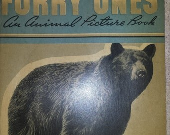 1938 - Furry Ones - An Animal Picture Book