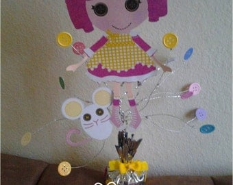 Lalaloopsy Birthday Party  Cardstock  Centerpiece