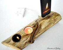iPhone 6 Dock, iPhone 5 Dock, iPad mini dock - Agave Caramel