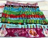 Personalized Crayon Roll- Made to order