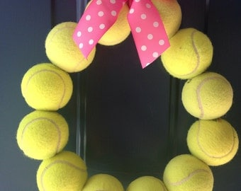 Tennis Wreath